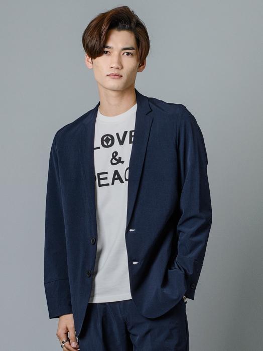 2釦テーラードジャケット